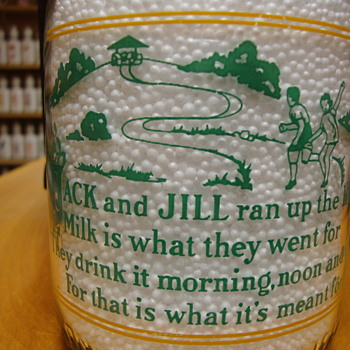 Pure Milk Co. (Marion, Huntington, Gas City Indiana) RHYME milk bottle - Bottles