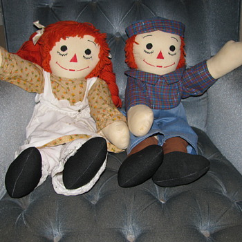 Raggedy Ann & Andy - Dolls