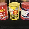 Original Potato chip cans