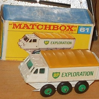 Matchbox 61 Alvis Stalwart in F Box - Model Cars