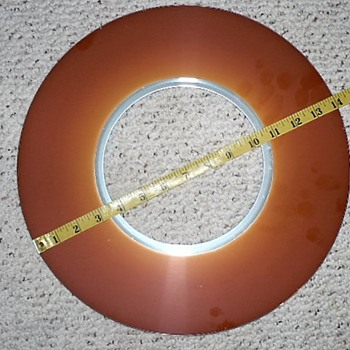 Early HDD disc drive platter - Electronics