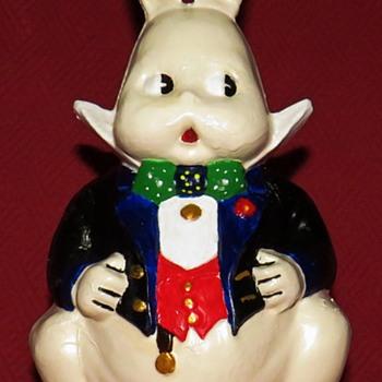 Vintage Cast Iron  Peter Rabbit (Harrison Cady Version) - Animals