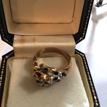 Vintage Gold Cat Ring - Fine Jewelry