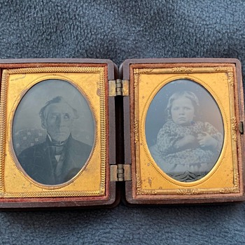 Ambrotypes in thermoplastic case - Photographs
