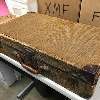 Possibly 1930s Corbin suitcase - Bags