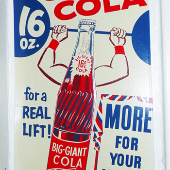 Big Giant Cola 16oz Tin Sign