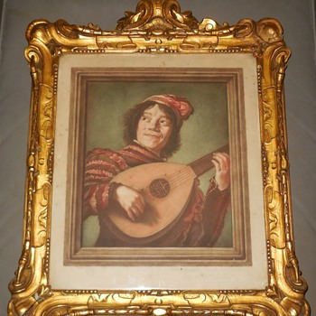 The Lute Player, after Frans Hals By Arlen Eduardo 1880-1910 - Fine Art