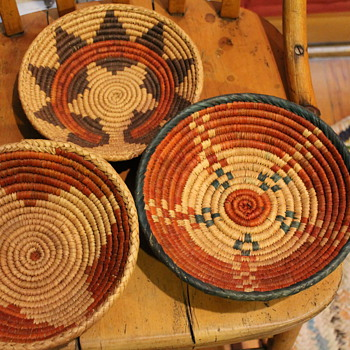 Southwestern Native American Baskets?? - Native American
