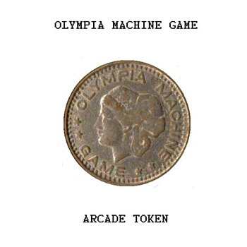 Olympia Machine Game Token - US Coins