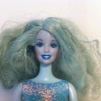 A Blue Barbie?
