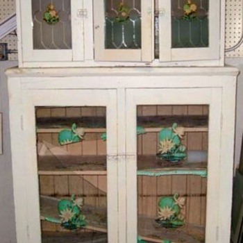 Antique kitchen cabinet - Furniture