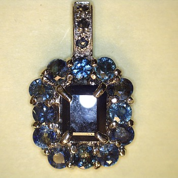 Sapphire pendant - Fine Jewelry