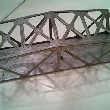 Vintage Marx Train Bridge - Model Trains
