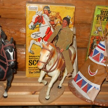 Gabriel Lone Ranger Figures and Sets 1970s - Toys