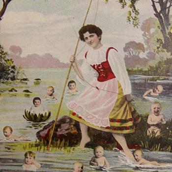 Fishing For Children - Postcards