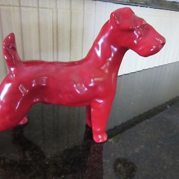 ERPHILA Germany Big Red Dog - Figurines