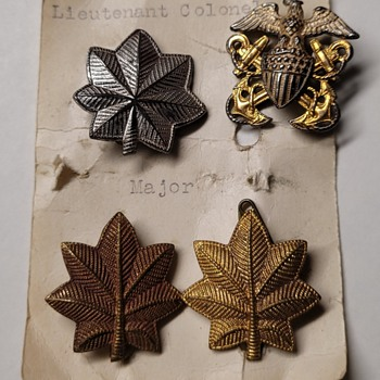 WWII Military Pins - Military and Wartime