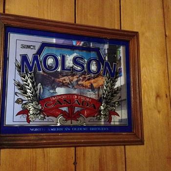 Molsen Canada rectangular bar mirror