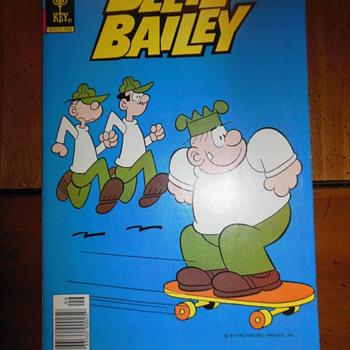 Beetle Bailey comic books