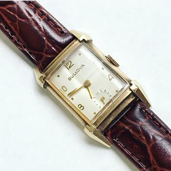 Vintage Bulova Watch Co. Wrist Watch 10k GF 21j - Wristwatches