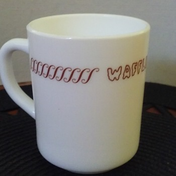 WAFFLE HOUSE restaurant coffee cup - Glassware
