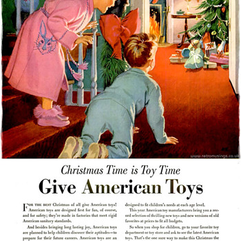 Give American Toys Ad - Toys