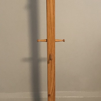 Mid Century Modern coat rack. - Furniture