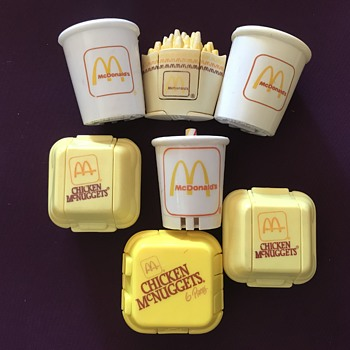 Vintage McDonald's Happy Meal Toys - Toys