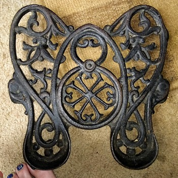 Antique ornate cast iron - Sewing
