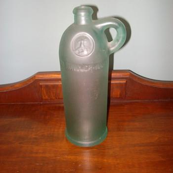 Green Wine Bottle - Bottles