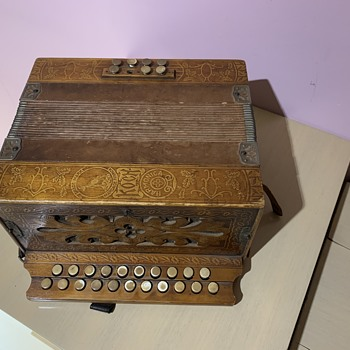 Koch mystery accordion  - Musical Instruments