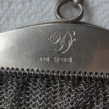 Sterling Silver bag - Bags