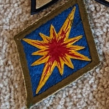 Korean War Army Patch - Military and Wartime
