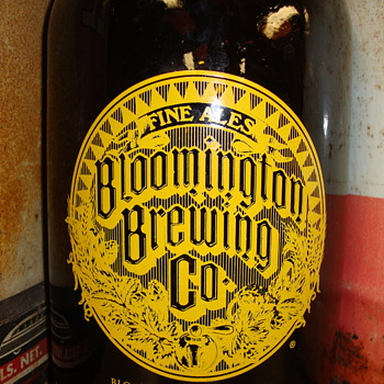 Bloomington Indiana Brewing Co. Jug.........