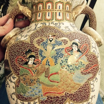 Very old Asian vase - Asian