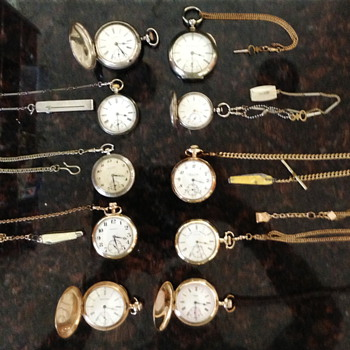 Some pocket watches - Pocket Watches