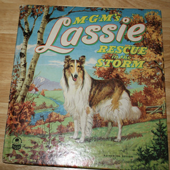 "MGM's Lassie ""Rescue in the Storm.""   - Books"
