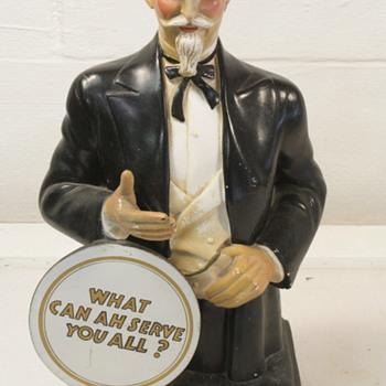 Col Sanders chalkware statue - Advertising