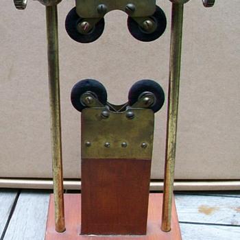 Brass & Wood Clamp