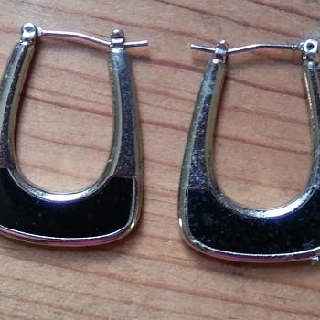 Black earrings!  - Costume Jewelry