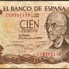 Spain - (100) Pesetas Bank Note