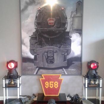 PRR Locomotive Hardware - Railroadiana