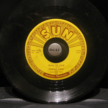 Johnny Cash Sun 45rpm - Records