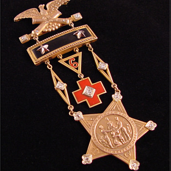 GAR Medal c. 1933 New Jersey  - Military and Wartime