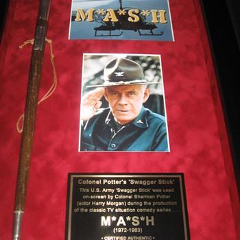 M*A*S*H . . . Colonel Potter's 'Swagger Stick'