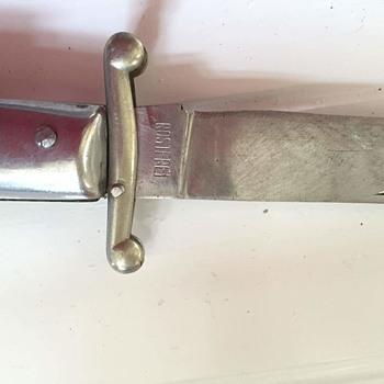 anyone help identify my knife