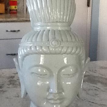 Porcellain Asian Head