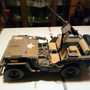 GI Joe Jeep Circa 2000 With Some Modifications - Toys