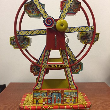 1950s tin Ferris Wheel Toy  - Toys