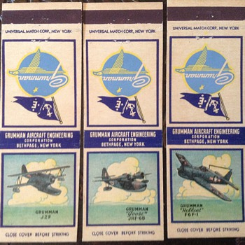 Grumman aircraft - Advertising